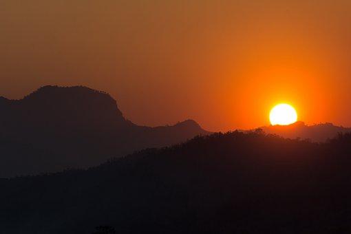 Mountain, Landscape, Sunset, Nature, Sunrise - Dawn