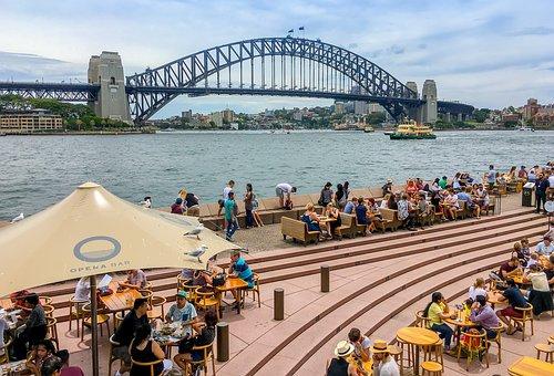 Ferry, Sydney Harbour, Sydney, Australia, Nsw
