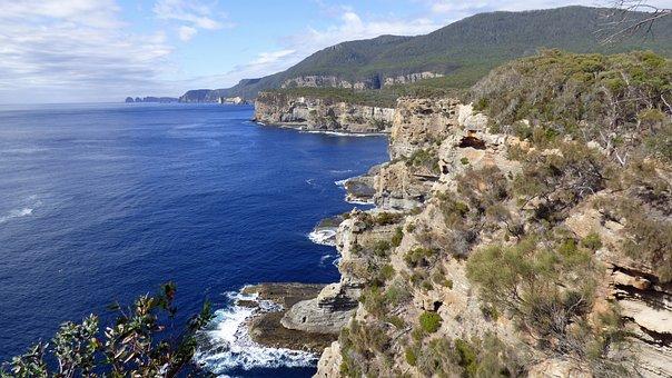 Tasmania, Tasman Arch, Coast, Australia, Rock, Park