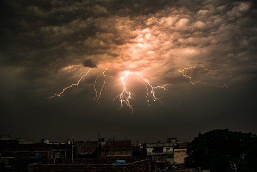 Lightning, Sky, Pakistan, Storm, Weather, Thunderstorm