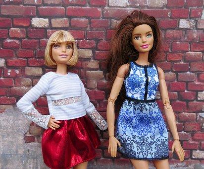 Barbie, Doll, Urban, Brick Wall, Fashion, Portrait