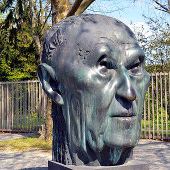Adenauer, Konrad, Konrad Adenauer, Sculpture, History