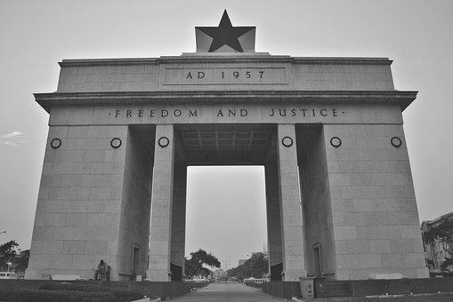 Independence Square, Accra, Ghana, Africa, Monument