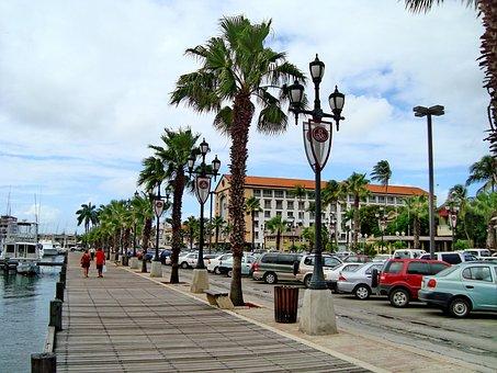 Aruba, Island, The Island Of Aruba, Oranjestad, Beach