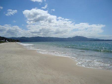 Brazil, Bombinhas, Beach