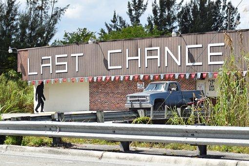 Last Chance, Florida, Miami, Car Sound Road, Bar, Keys