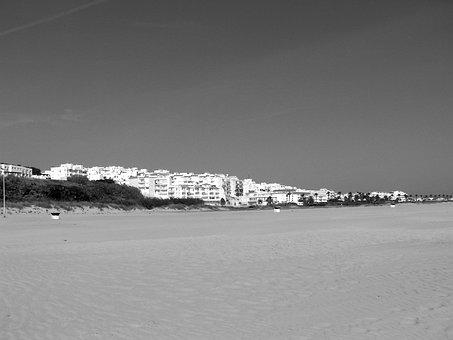 Conil, Andalusia, Costa De La Luz, Spain, White
