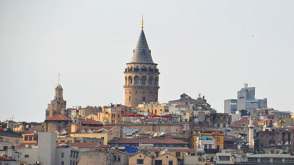 Galata Tower, Places Of Interest, Turkey, Istanbul