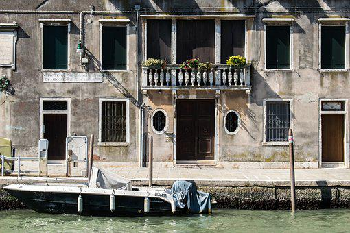 Italy, Venice, Europe, Architecture, Buildings, Street