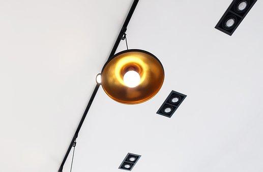Interior, Lighting, Light, Lights, Cafe, Light Bulb
