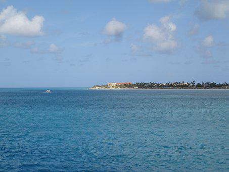 Aruba, Island, The Island Of Aruba, Oranjestad, Beach