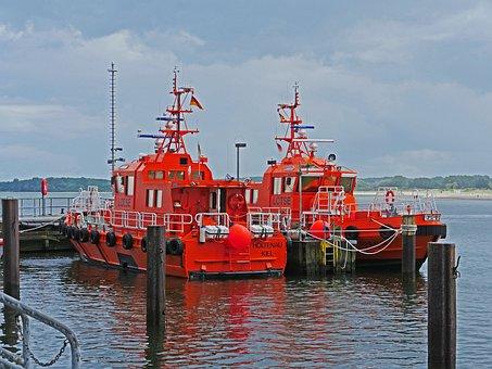 Pilot Port, Lübeck-travemünde, Port Pilot, Shipping