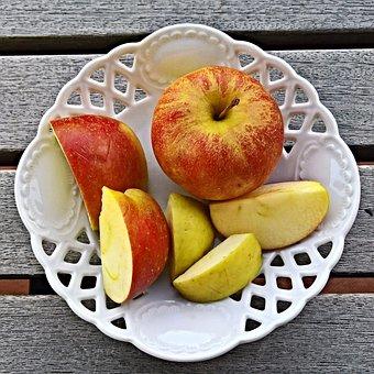 Apple, Fruit, Cut, Eat, Nibble, Apple Pieces, Sweet
