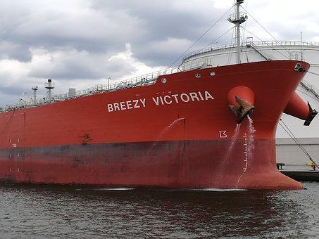 Ship, Port, Water, Freighter, Antwerp