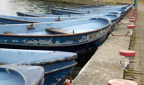 Sloop, Quay, Water, Rowing, Boating, Boats, Building
