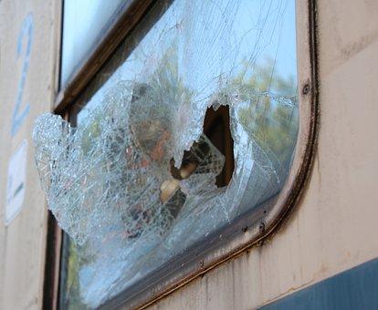 Window, Broken, Wagon, Db