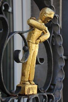 Figure, Abdominal Pain, Gold, Bellyache