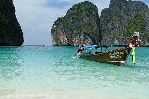 Thailand, Koh, Phi Phi, Beach, Island, Archipelago