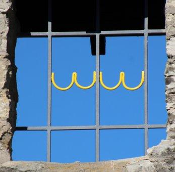 Window, Grate, Barred Window, Window Grilles, Grid
