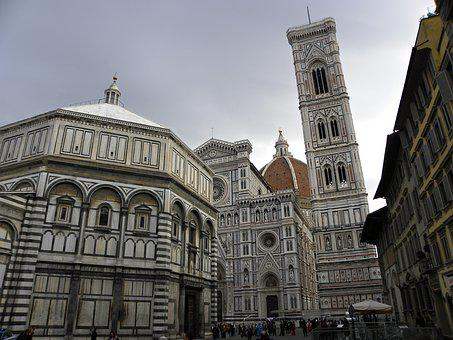 Florence, Baptistery, Bell Tower, History, Cathedral