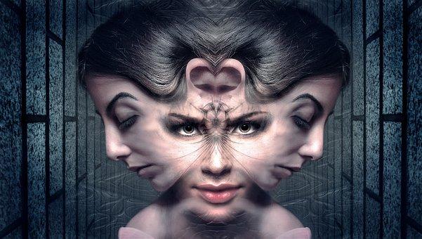 Fantasy, Mystical, Dream, Mysterious, Portrait, Weird