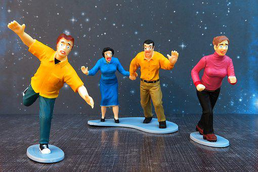 Fear, Running, Fright, Toys, Action Figure, Escape