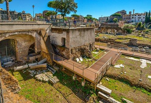 Rome, Italy, Ruins, Forum, Roman, Ancient, City