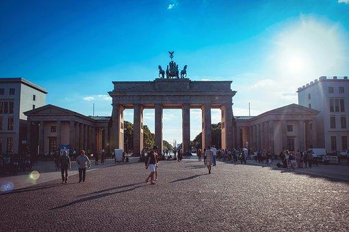Berlin, Brandenburg Gate, Places Of Interest, Germany