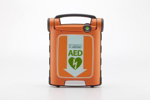 Powerheart, Aed, Defibrillator, Cardiac Arrest, Heart