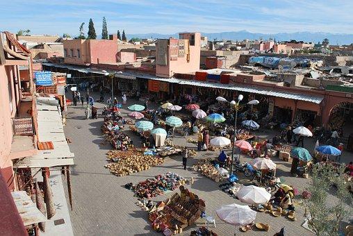 Marrakech, Souk, Morocco