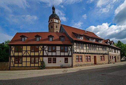 Sangerhausen, Saxony-anhalt, Germany, Old Building
