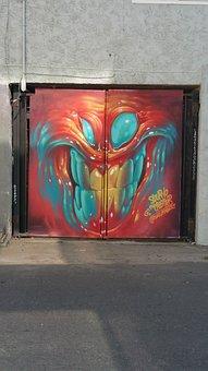 Venice Beach, Graffiti, Street Art, Creative, Pain
