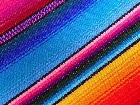 Hammock, Stripes, Rainbow