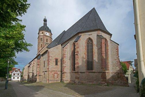 Market Church, St Jacobi, Sangerhausen, Saxony-anhalt