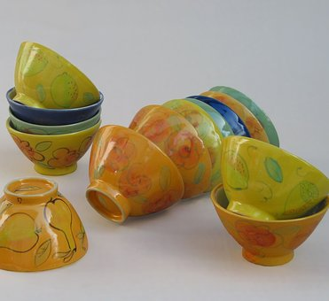 Ceramic, Art, Shells, Decorative