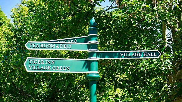 Sign Post, Directions, Post, Sign, Road, Way, Signpost