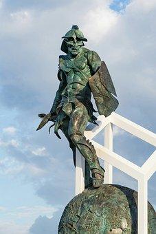 Spartacus, Statue, Gladiator