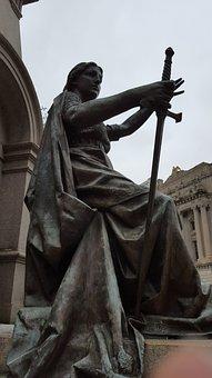 Justice, Statue, Woman, Politics, Symbol, Law, Lady
