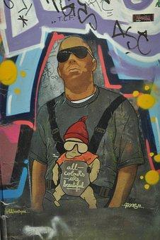 Teufelsberg, Berlin, Street Art, Dome, Graffiti
