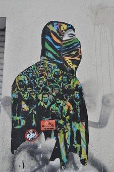 Street Art, Graffiti, Facade, Urban Art, Berlin, Spray