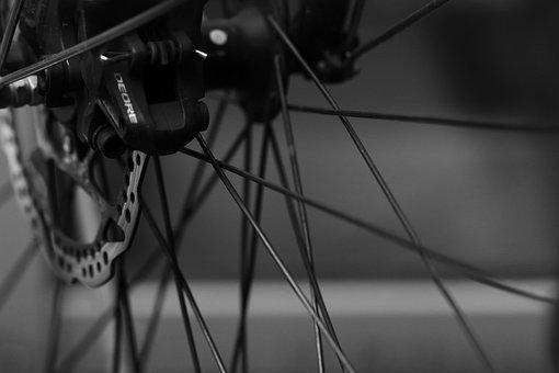 Bike, Part, Cycle, Wheel, Bicycle, Tire, Gray Bike