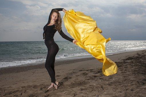 Model, Beach, Beautiful, Photography, Human, Woman