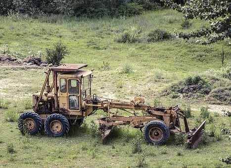 Equipment, Loader, Grader, Construction, Agriculture