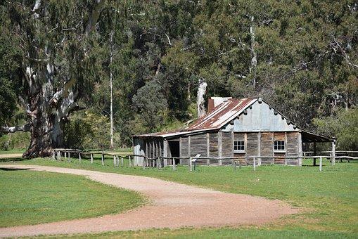 Hut, Cattlemen's Hut, Fry's Hut High Country, Bush