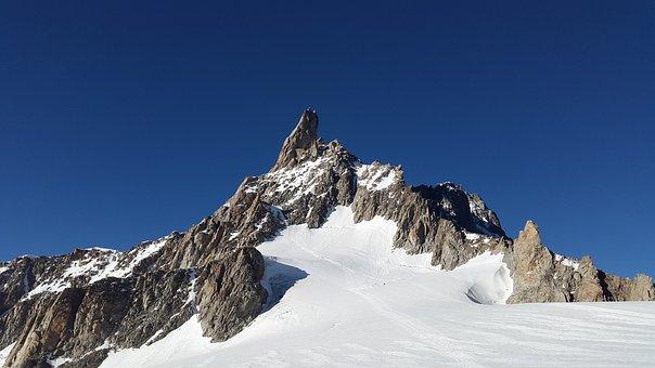 Dent Du Géant, Aiguille Du Géant, Chamonix, Series 4000