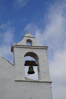 Tenerife, Bell Tower, Turret, Bell, Chapel, Church