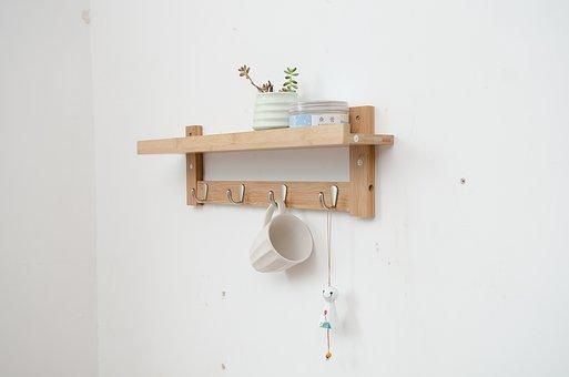 Coat Rack, Wall-mounted Hook, Racks