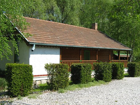 Hunting Lodge, Cottage, Building, Old, Old House