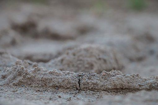 Earth, Ground, Grass, Nature, Cracks, Cracked, Drought