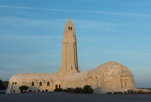 Douaumont, Ossuary, 1914, 1918, World War, Memorial